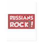 ¡Roca de los rusos! Tarjetas Postales