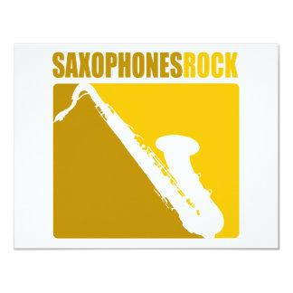 ¡Roca de los saxofones! Anuncio