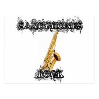Roca de los saxofones postales
