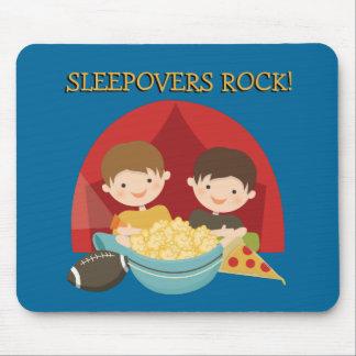 Roca de los Sleepovers Alfombrilla De Ratón
