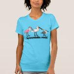 ¡Roca de los Spoonbills! Camisetas