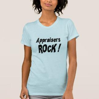 ¡Roca de los tasadores! Camiseta