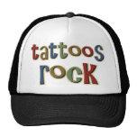 Roca de los tatuajes gorra