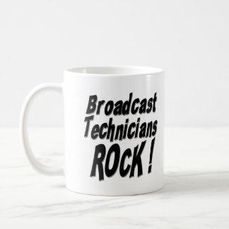 ¡Roca de los técnicos de la difusión! Taza