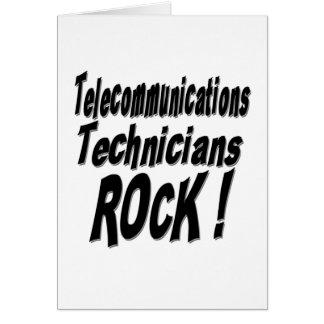 ¡Roca de los técnicos de las telecomunicaciones! T Felicitacion