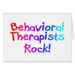Roca de los terapeutas de Bahaviorial Felicitacion