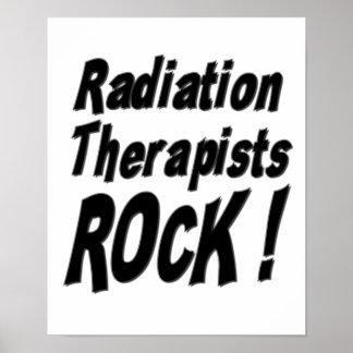 ¡Roca de los terapeutas de la radiación Impresión