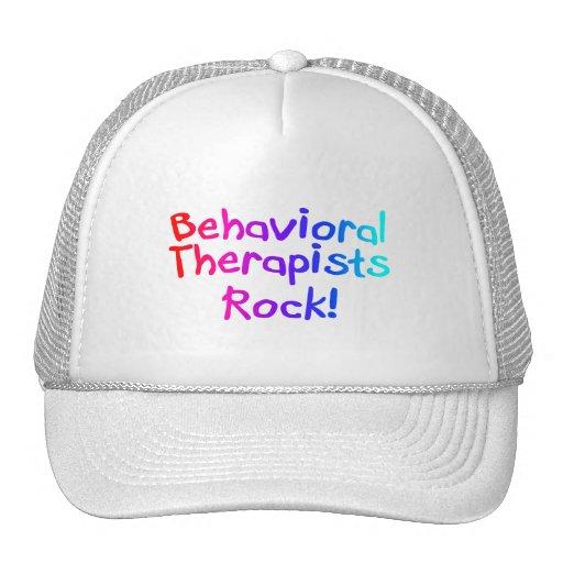 Roca de los terapeutas del ABA (brillante) Gorro