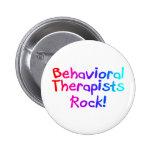 Roca de los terapeutas del ABA (brillante) Pin