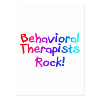 Roca de los terapeutas del ABA (brillante) Postal