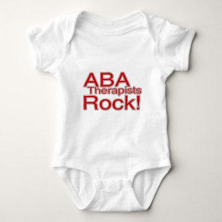 Roca de los terapeutas del ABA (roja) Body Para Bebé