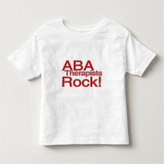 Roca de los terapeutas del ABA (roja) Remera