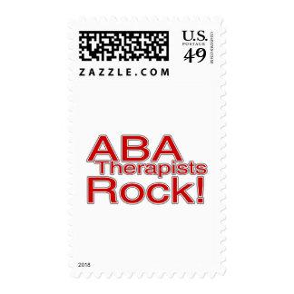 Roca de los terapeutas del ABA (roja) Franqueo