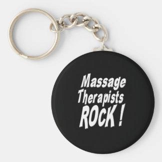 ¡Roca de los terapeutas del masaje! Llavero