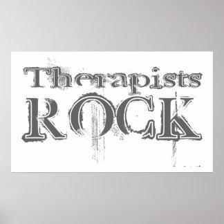 Roca de los terapeutas impresiones