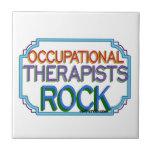 Roca de los terapeutas profesionales tejas