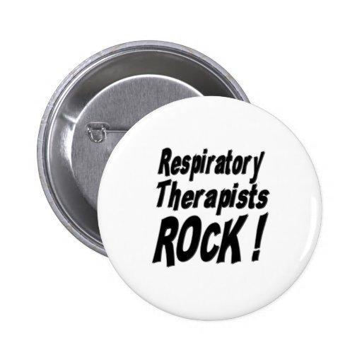 ¡Roca de los terapeutas respiratorios! Botón Pin