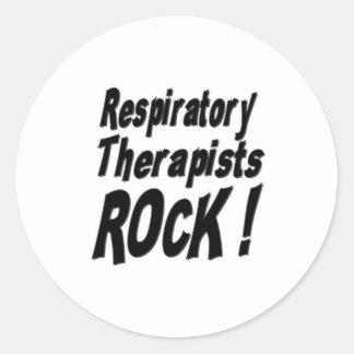 ¡Roca de los terapeutas respiratorios! Pegatina