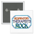 Roca de los terapeutas respiratorios pin