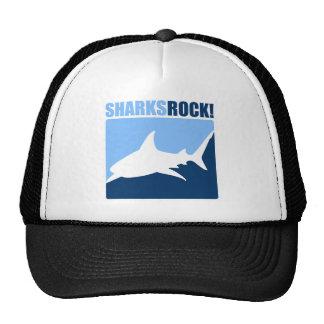 ¡Roca de los tiburones! Gorras
