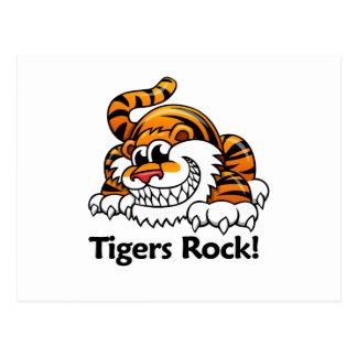¡Roca de los tigres! Tarjetas Postales