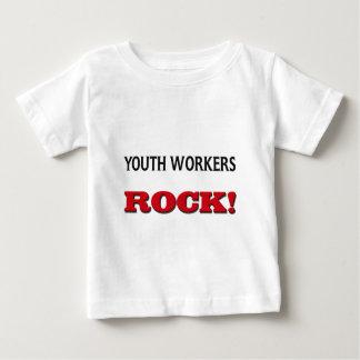 Roca de los trabajadores de la juventud playera para bebé