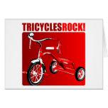 ¡Roca de los triciclos! Felicitaciones