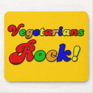 Roca de los vegetarianos tapete de ratón