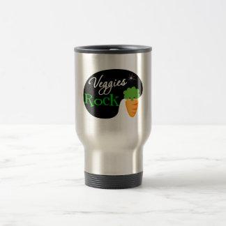 Roca de los Veggies Tazas De Café