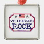 ¡Roca de los veteranos! Ornamente De Reyes