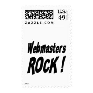 ¡Roca de los Webmasters! Sello