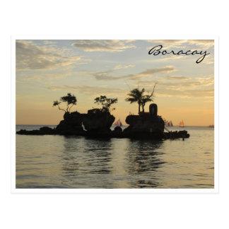 roca de los willys de Boracay Postales