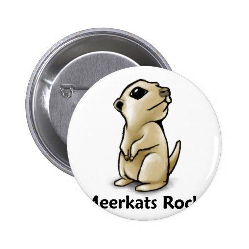 ¡Roca de Meerkats! Pin