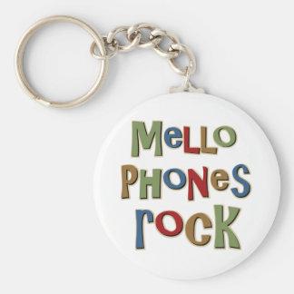 Roca de Mellophones Llaveros Personalizados