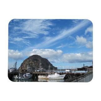 Roca de Morro barcos de pesca y el Embarcadero Iman