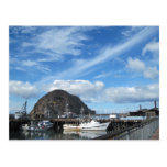 Roca de Morro, barcos de pesca y el Embarcadero Postales