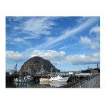 Roca de Morro, barcos de pesca y el Embarcadero Postal