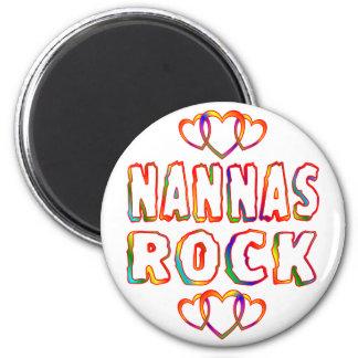 Roca de Nannas Imán Redondo 5 Cm