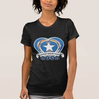 Roca de Northern Mariana Islands Camiseta