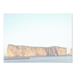 Roca de Perce, formación de roca de Gaspe, Quebec, Anuncio Personalizado