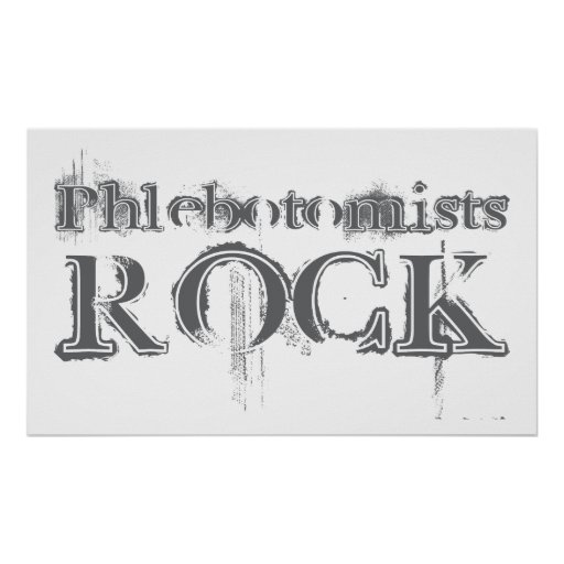 Roca de Phlebotomists Posters