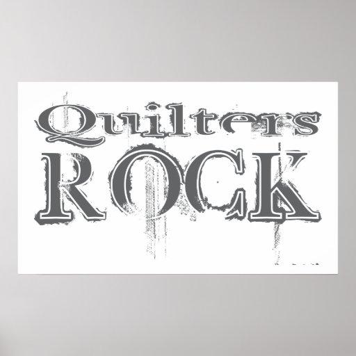 Roca de Quilters Impresiones