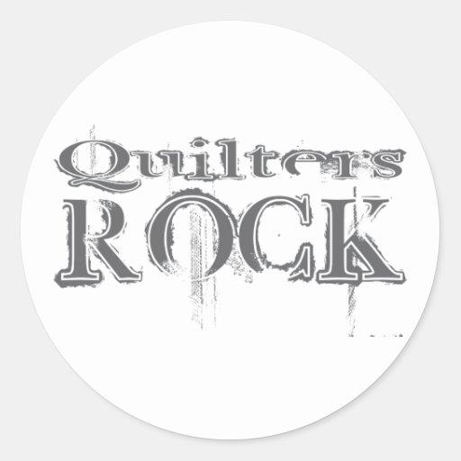 Roca de Quilters Pegatinas