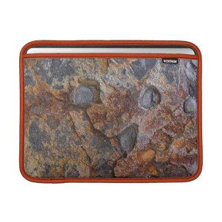Roca de Sedementary de la textura de la geología Funda MacBook