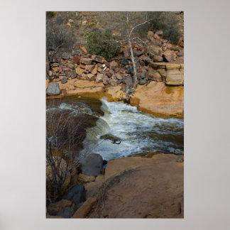 Roca de Sllide en Sedona, AZ 3575 Impresiones