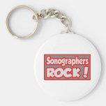 ¡Roca de Sonographers! Llavero Personalizado