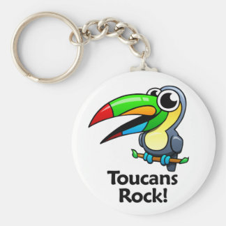 ¡Roca de Toucans! Llaveros Personalizados