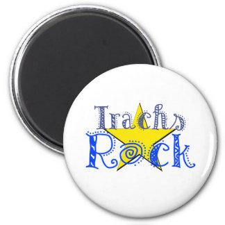 Roca de Trachs Imán Redondo 5 Cm