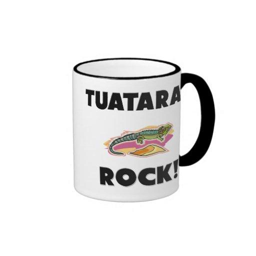 Roca de Tuataras Taza A Dos Colores