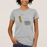 Roca de U - regla de U Camiseta
